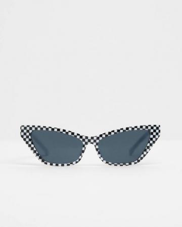 Geruite zonnebril