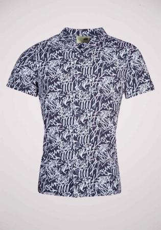Hemd met print