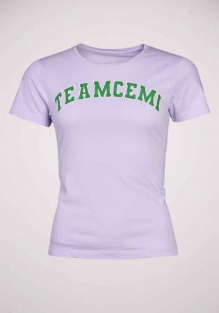 Lila T-shirt