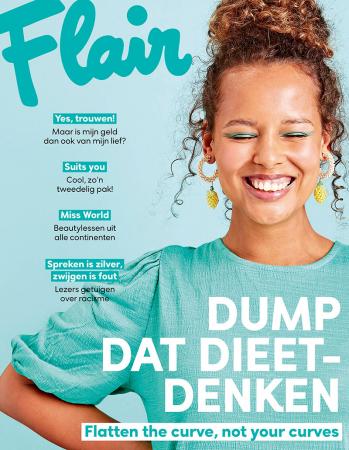 Op de cover: Liesbet Leyers