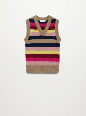 Gestreepte knit