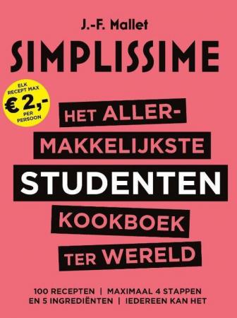 Het allermakkelijkste studentenkookboek, Jean-François Mallet