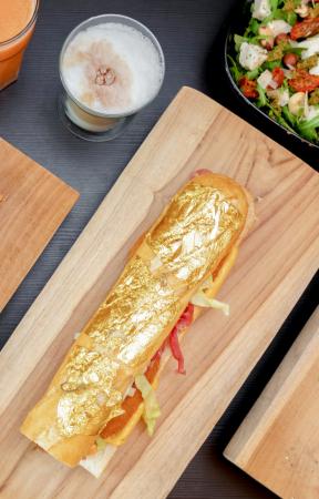 Golden Sandwich