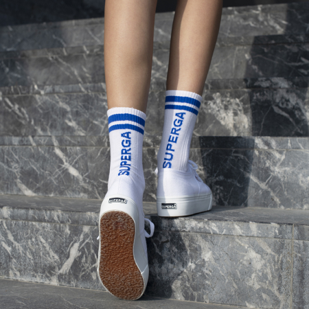 Sport Ankle Socks with Superga Logo