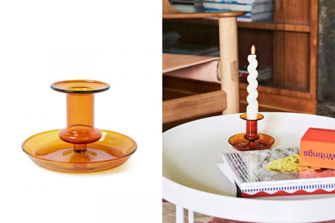 3. Kandelaars en gekleurde/gedraaide kaarsen