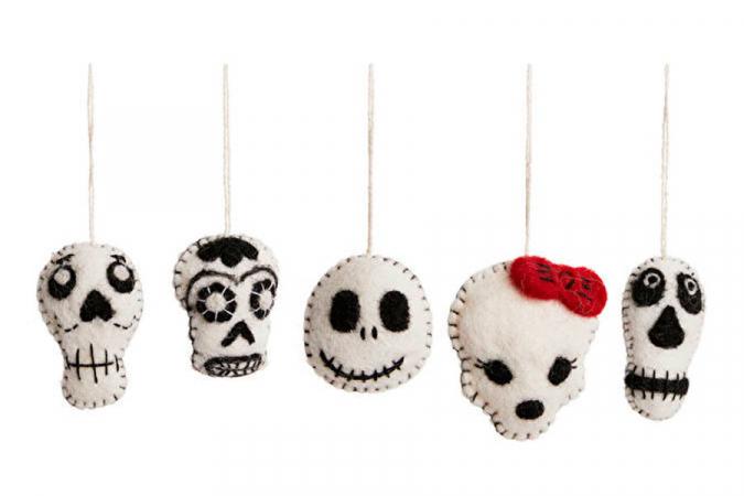 Squelettes en feutres