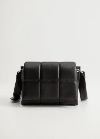 Doorgestikte handtas