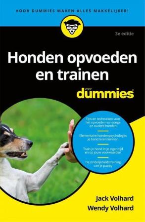 Handleiding 'Honden opvoeden en trainen voor dummies'