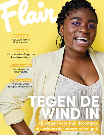 Op de cover: Christel