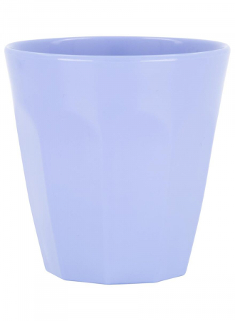 Blauwe mok van melamine