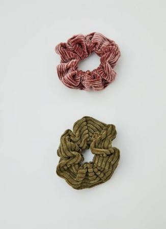 Set van 2 scrunchies