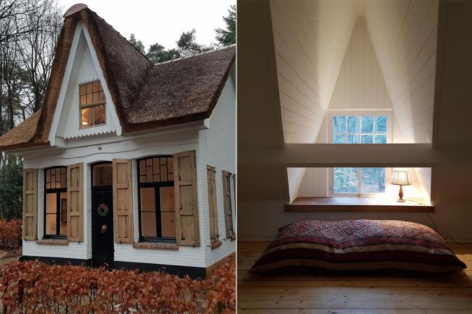 Une maison de conte de fées à Kapellen