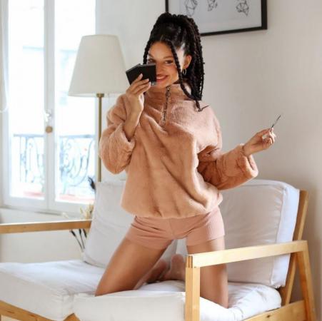 Sweater van fleece