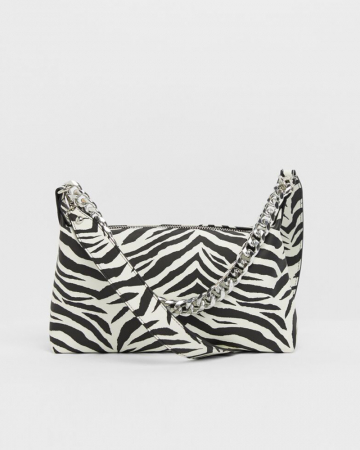 Tas met zebraprint