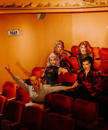 Fotografe Irmy: 'De drag-reeks was heerlijk om te maken, ik genoot van elke minuut tijdens de shoot.'