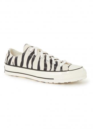 Sneakers in zebraprint