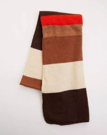 Meerkleurige sjaal