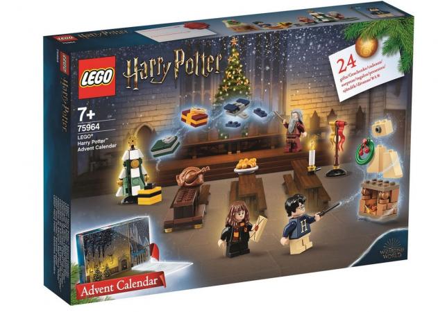 Adventskalender van Lego