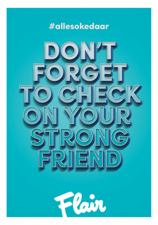 Don't forget to check on your strong friend