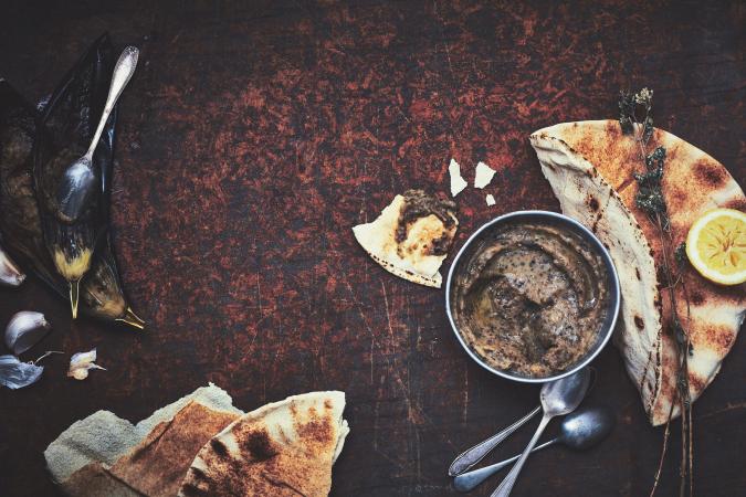 Griekse auberginekaviaar