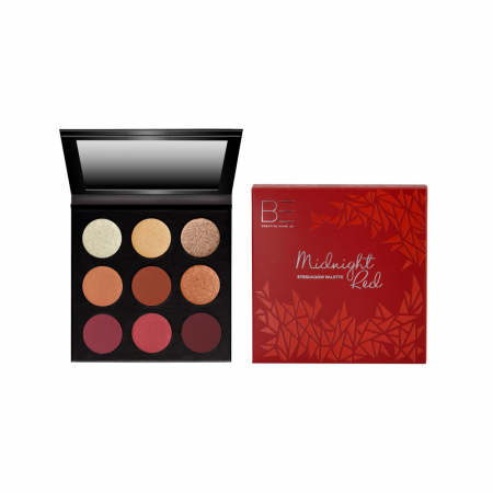 BE Creative Eyeshadow Palette Burgundy