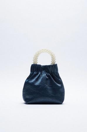 Handtasje met parels