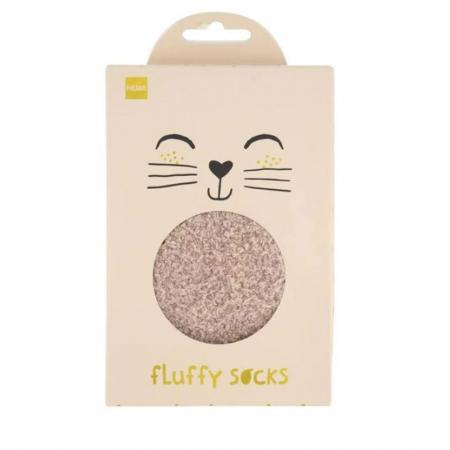 Fluffy sokken