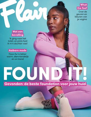 Op de cover: lezeres Lucie