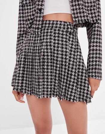 Tweed minirok