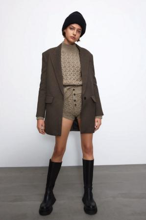 Pull et short à torsades – Zara
