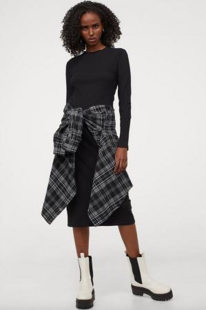 Robe côtelée – H&M