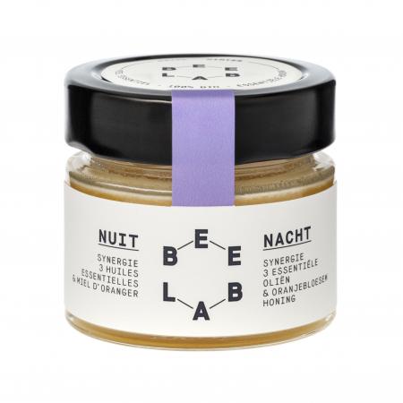 Essentiële honing met lavendel