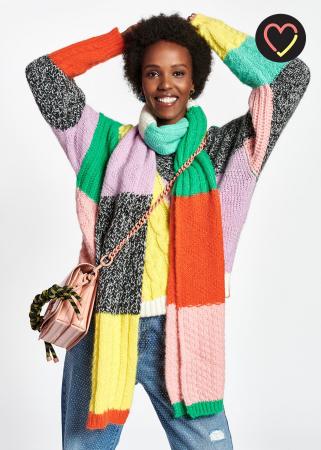 Kleurrijk patchwork