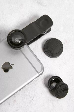 Lot d'objectifs 3 en 1 pour smartphone