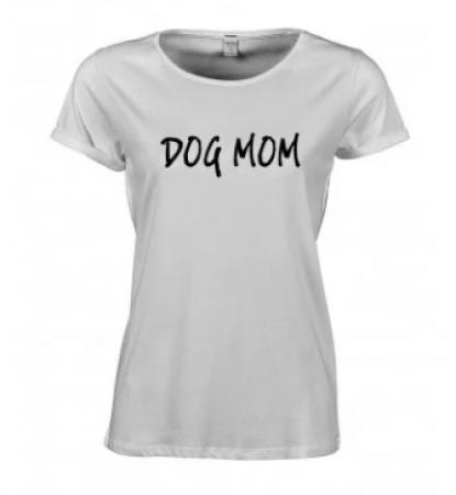 T-shirt 'Dog Mom'