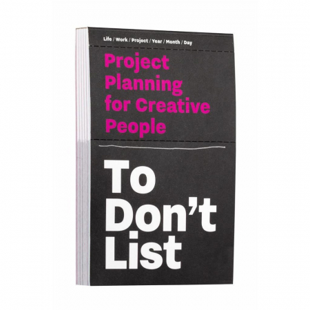 Projectplanner To Don't List