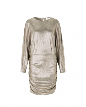 Zilverkleurige jurk