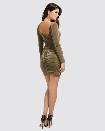 Bronzen jurk