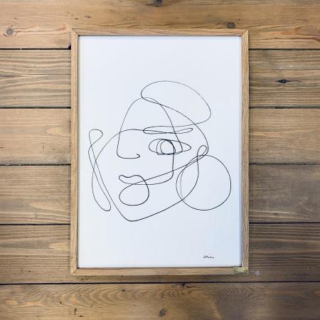 Un dessin one-line