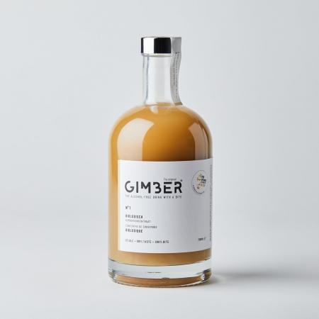 Une bouteille de GIMBER