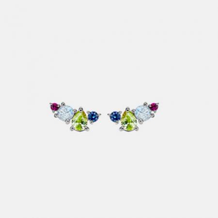 Kleurrijke oorbelletjes