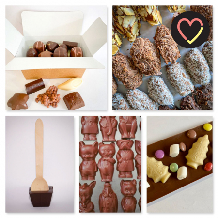 Cadeaubox vegan chocolade