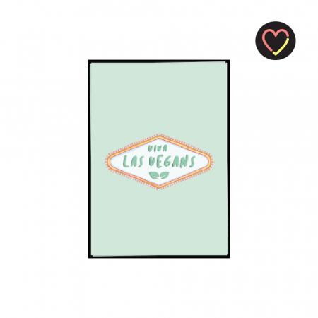 Kerstkaart 'Viva Las Vegans'