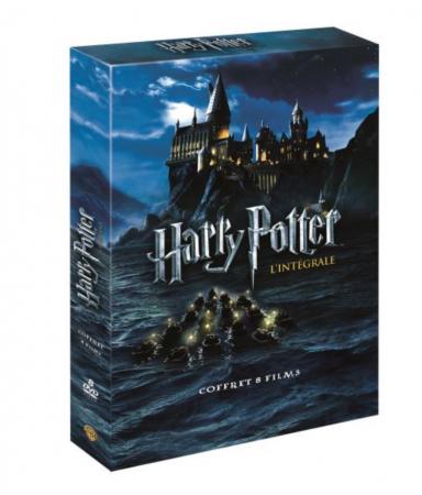 Le coffret DVD des 8 films