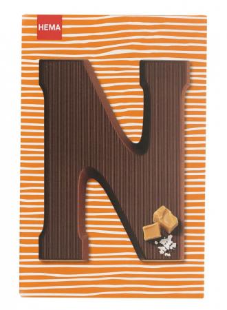 Des lettres en chocolat