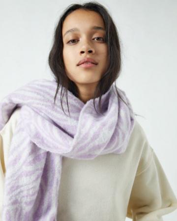 Sjaal in zebraprint
