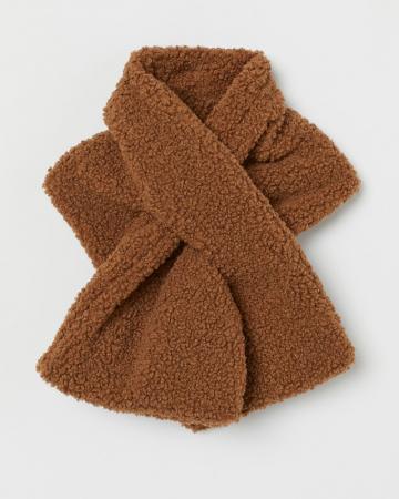Sjaal in teddy