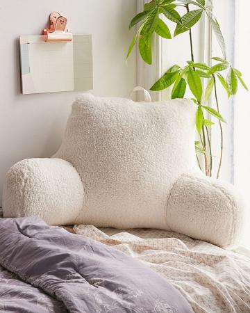 Kussen om comfy te lezen in bed