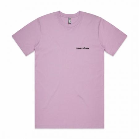 T-shirt 'kwetsbaar'