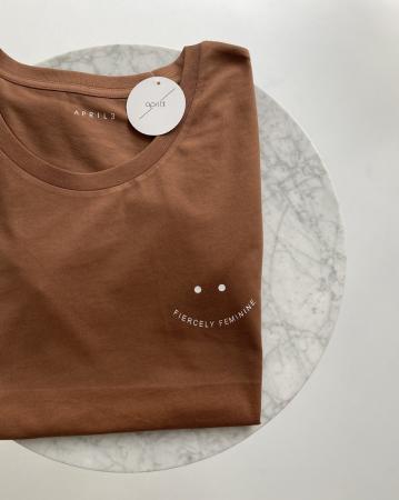 T-shirt 'fiercely feminine'